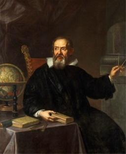 イタリアの物理学者ガリレオ